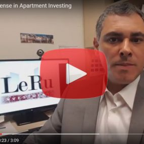 apartment investing; multifamily investing, real estate investing,